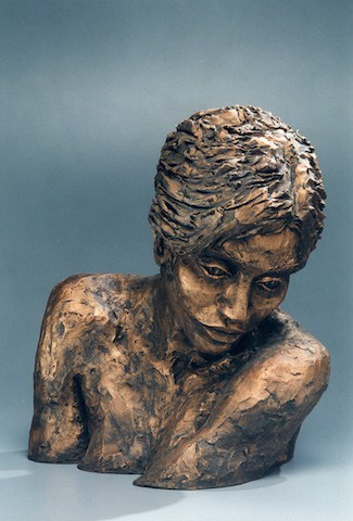Untitled-bronze-sculpture-by-Bonnie-Rochelle-Gallaty-1998