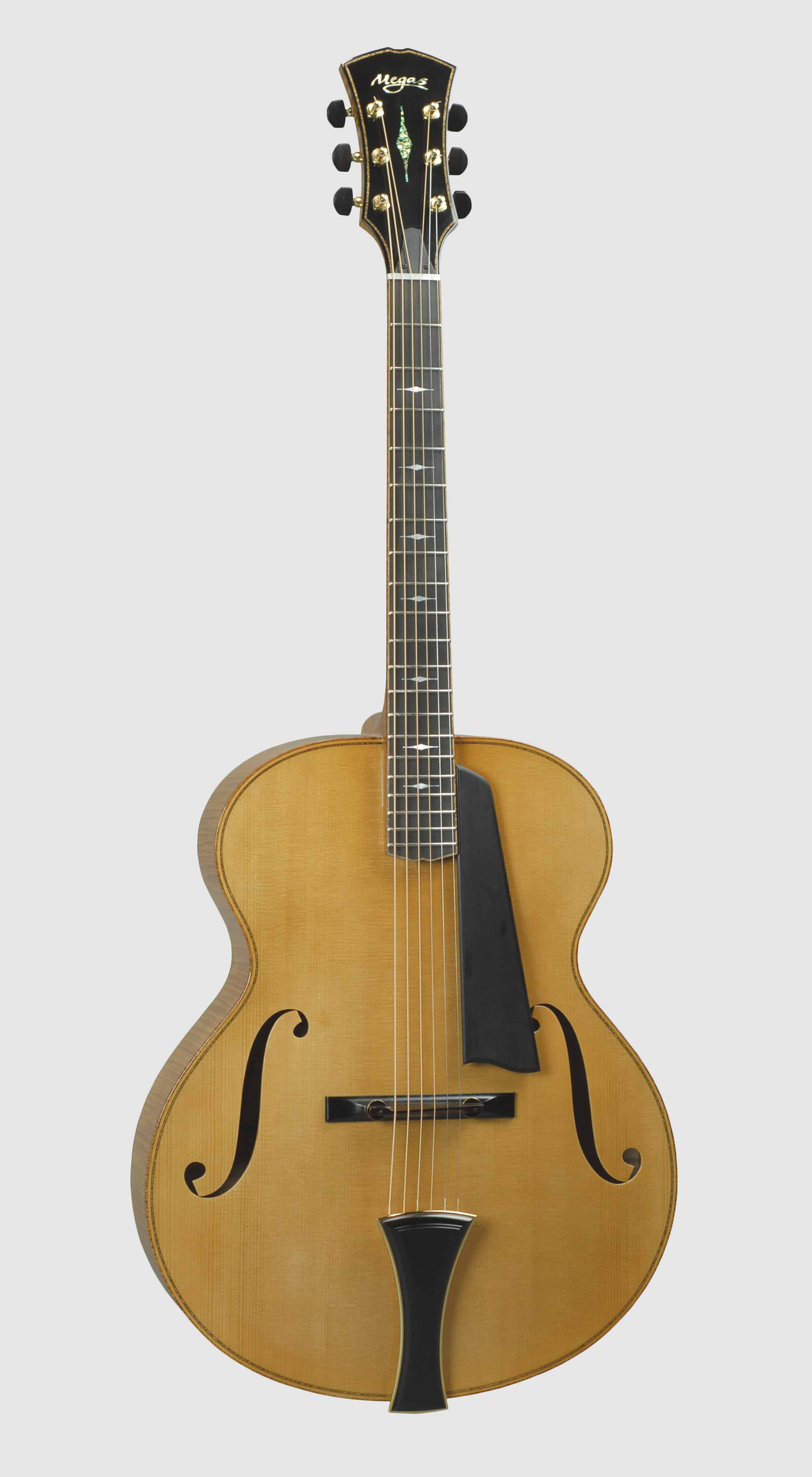 "Apollo Fullbody Archtop, 17""front"