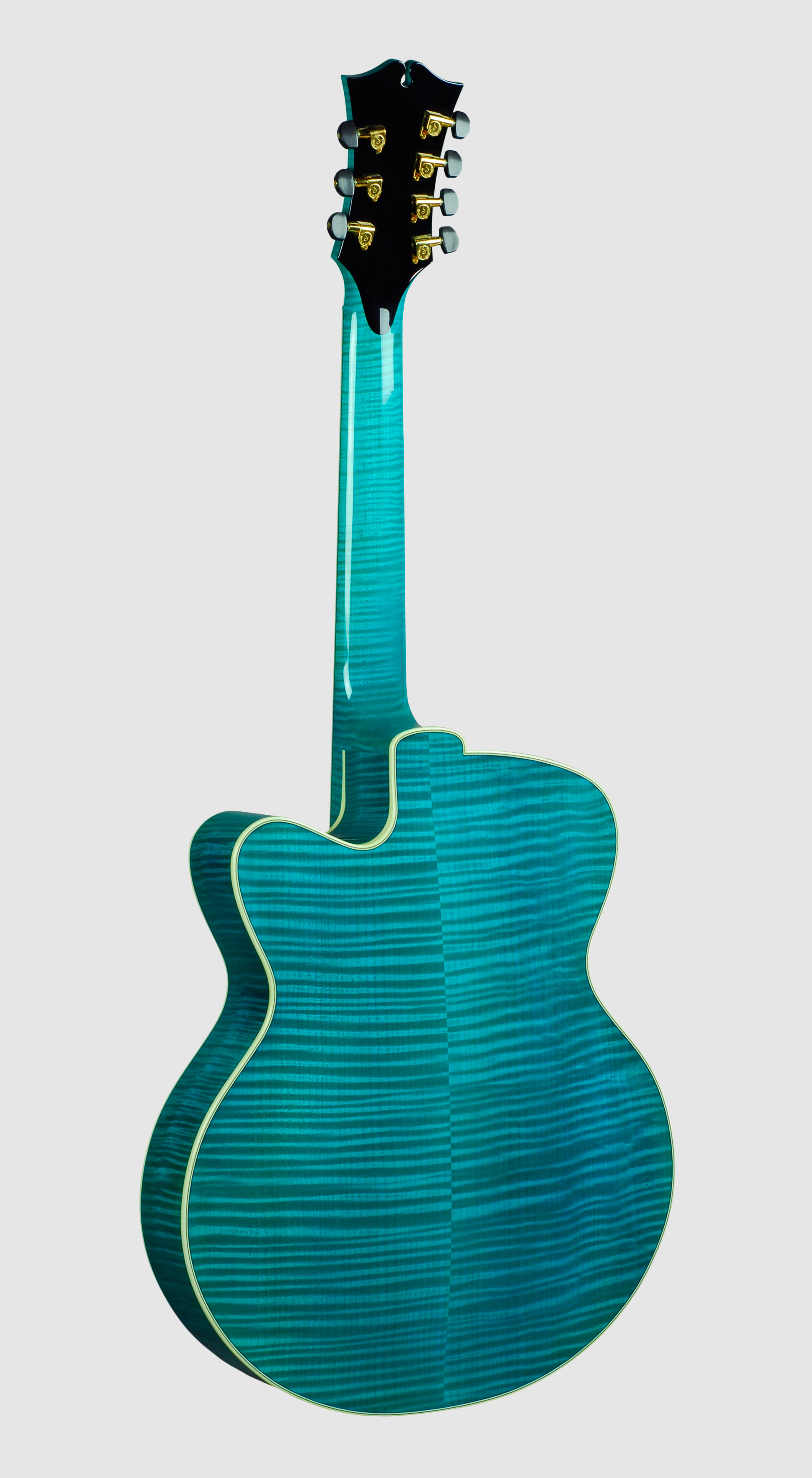 Athena 18 inch blue 7 string back