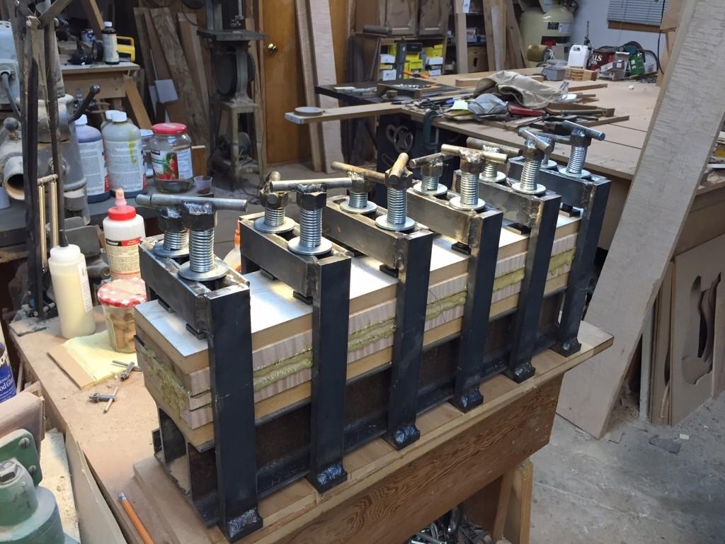 Neck Glue-up Press