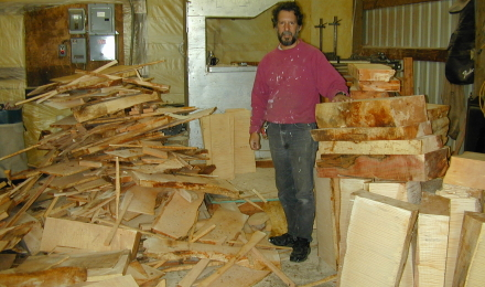 Processing maple billets