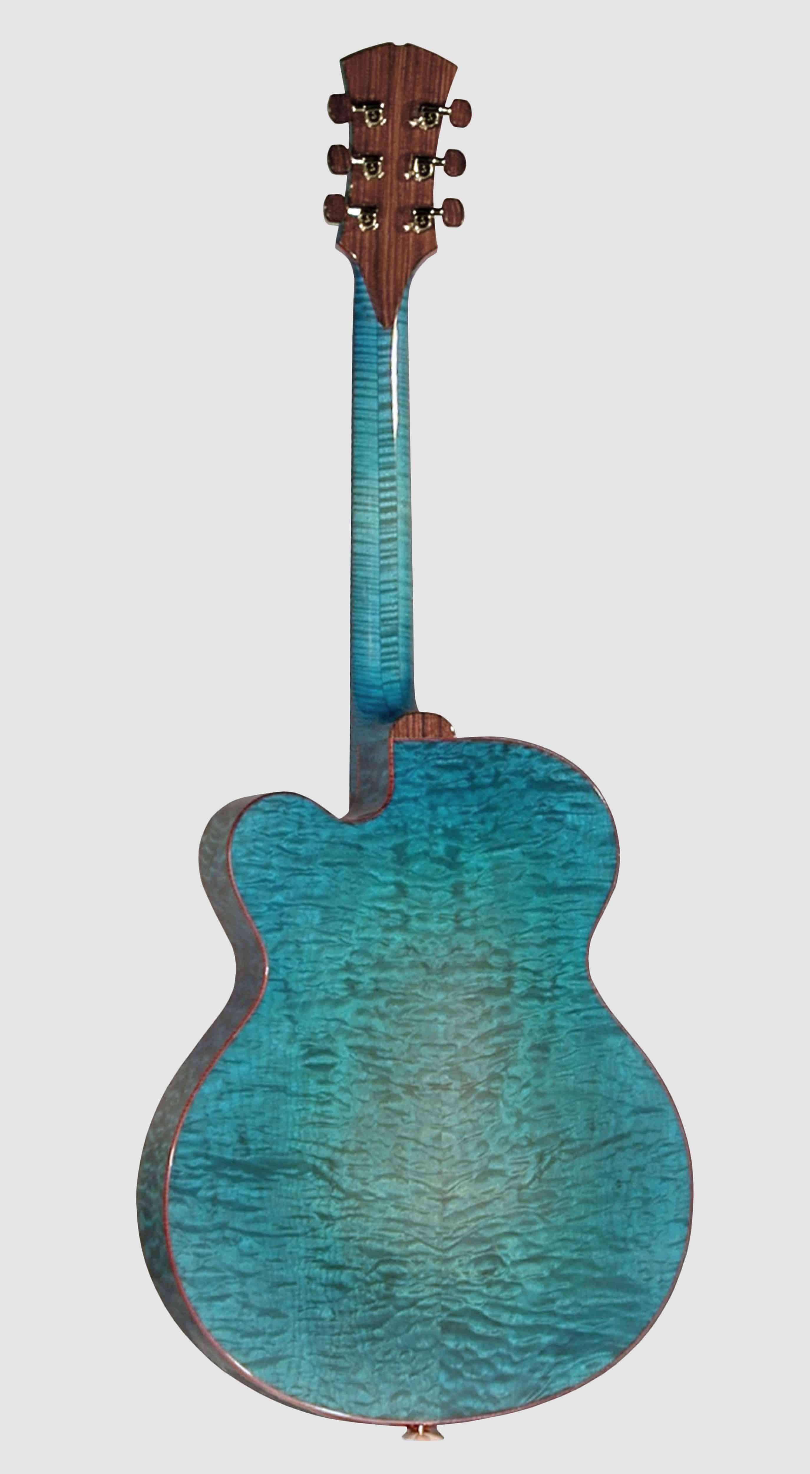 Apollo, blue cocobolo, back